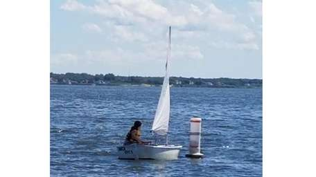 Kidsday reporter Grace Cullen goes sailing in Bayport.