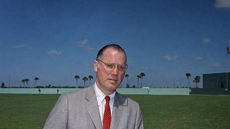 Former Baseball Commissionr Bowie Kuhn.