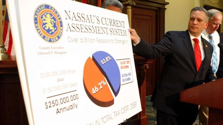A file photo of Nassau County Executive Edward