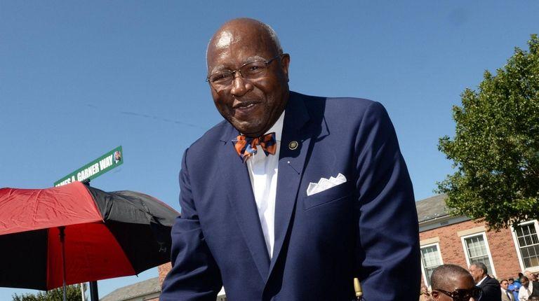 Former mayor of the Village of Hempstead James