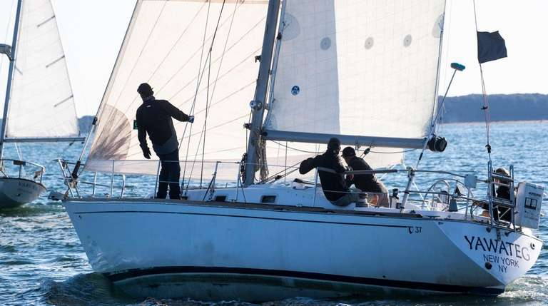 Peconic Bay Sailing Association's annual Whitebread 25 Race