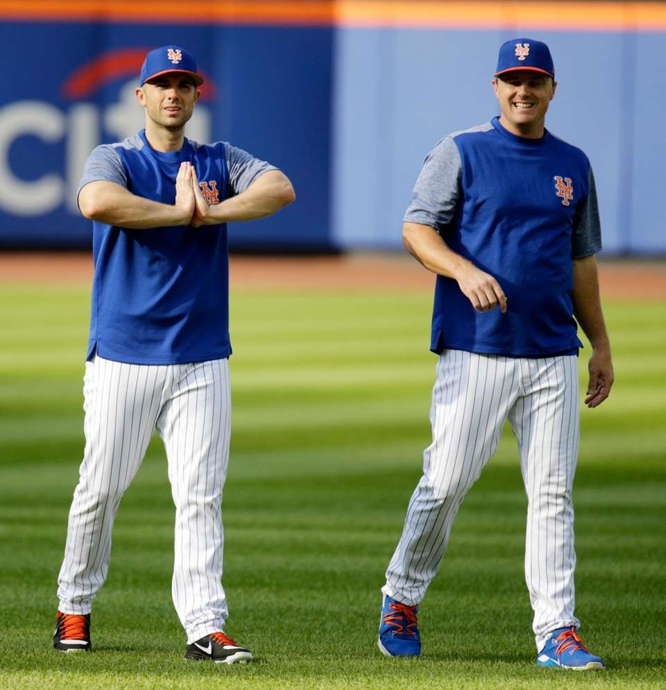 Mets third baseman David Wright and New York