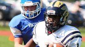 Baldwin played against Port Washington on Saturday, Sept.