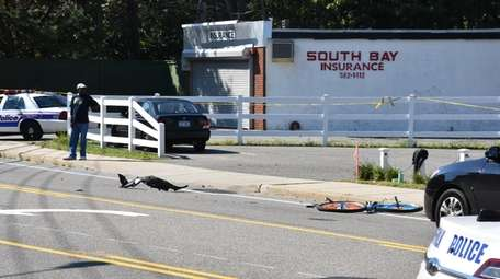 A 15-year-old bicyclist from Central Islip was listed