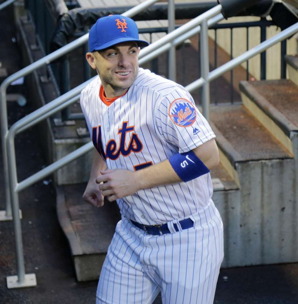 Mets third baseman David Wright in the dugout