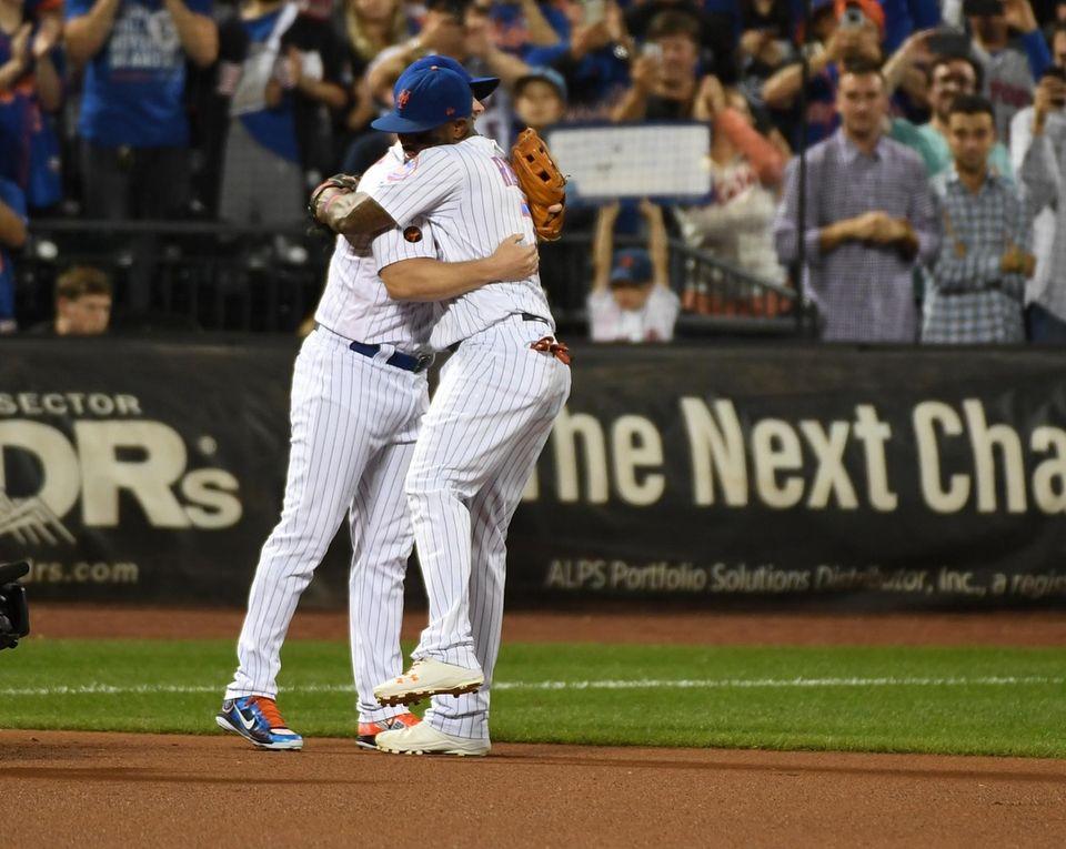 Mets third baseman David Wright with New York