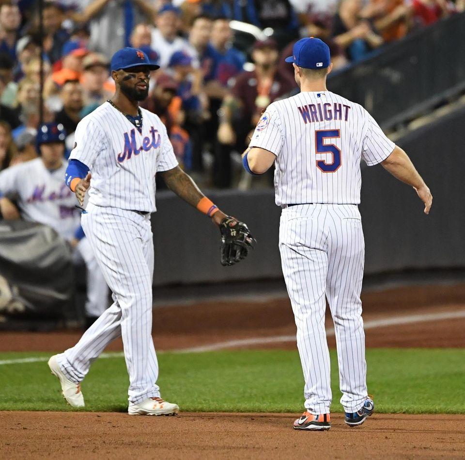 New York Mets third baseman David Wright and