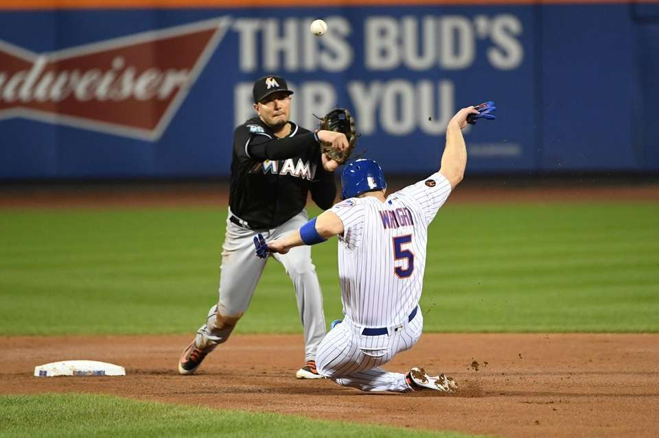 New York Mets third baseman David Wright is