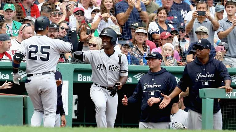83a1fc286466f Gleyber Torres happy his blast gave Yankees single-season home run record