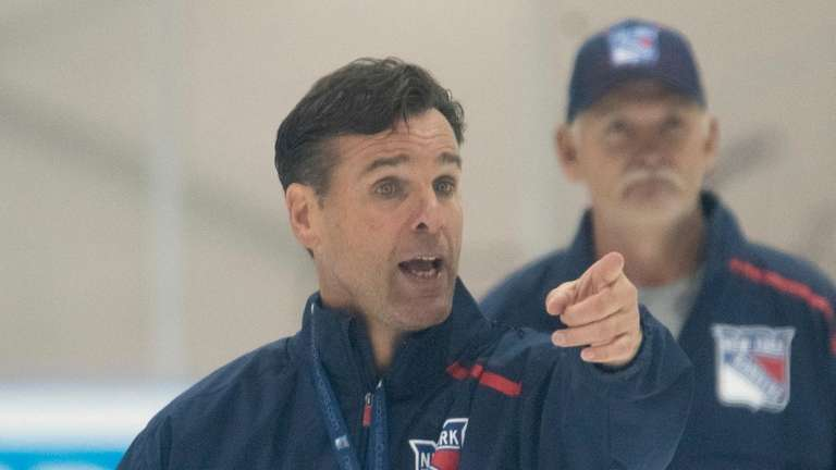 NY Rangers new head coach, David Quinn. The