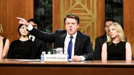 Matt Damon as Supreme Court nominee Brett Kavanaugh