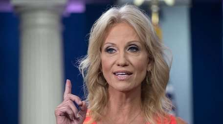 White House Counselor Kellyanne Conway on Aug. 21