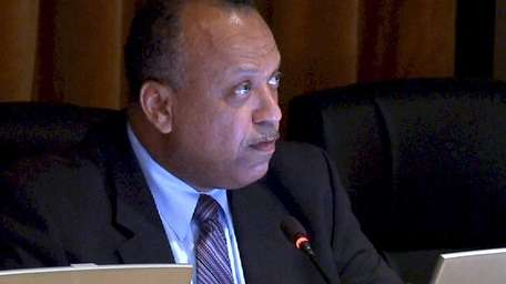 Dr. Pless Dickerson makes a statement regarding his