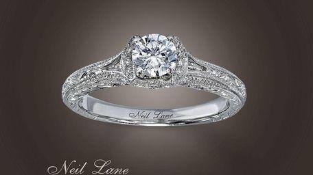 Neil Lane designed diamond ring. (July 2010)