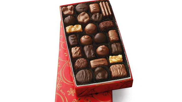 This hand-packed box of assorted chocolates from See's