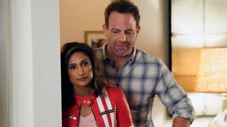 Sarayu Blue and Paul Adelstein star in NBC's
