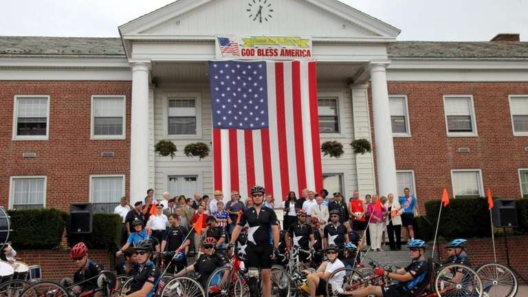 The Wounded Warrior Project's Soldier Ride kicks off