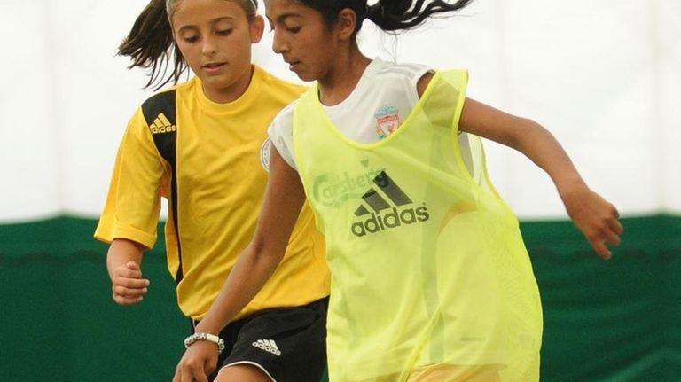 NOGA Long Island Under 13 team member Uma