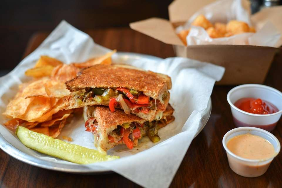 This family-owned-and-operated shop offers an extensive grilled cheese