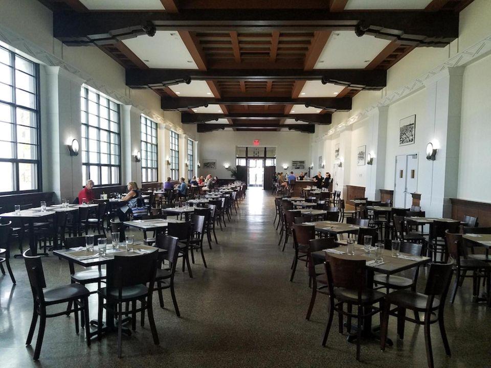 INFO: West Bathhouse, Marine Dining Hall, 1 Ocean
