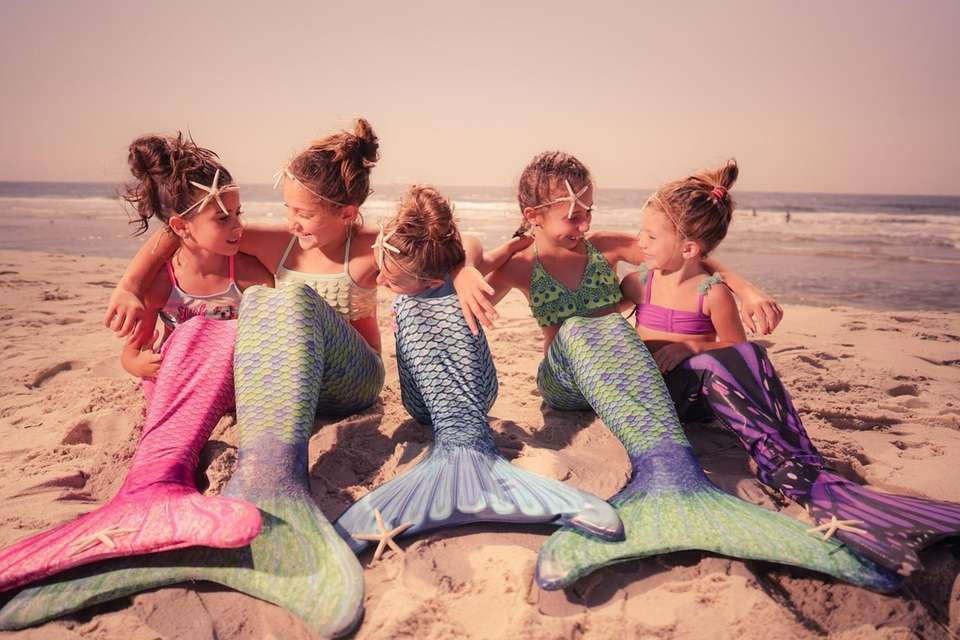 Mermaids at Cupsogue Beach
