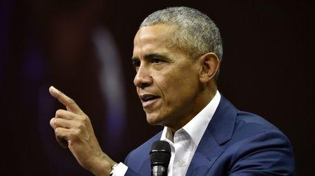 Former President of the United States, Barack Obama,