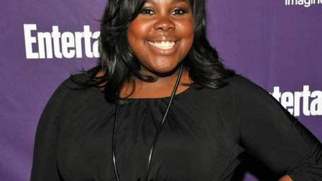 Actress Amber Riley, one of the stars of