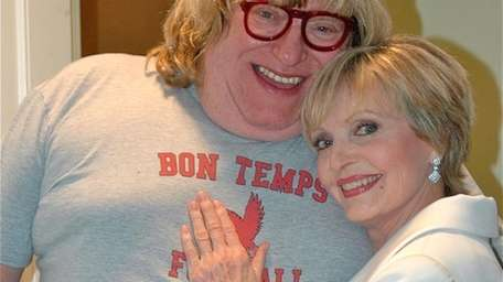 image for of Florence Henderson & Bruce Vilanch