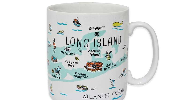 This jumbo mug with a fun Long Island