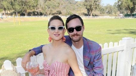 Actress Kate Hudson and musician Danny Fujikawa attend