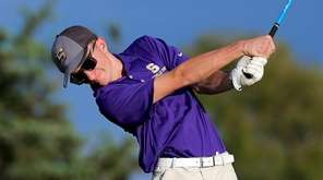 Sayville's Will Sukow shot an even-par 36 at