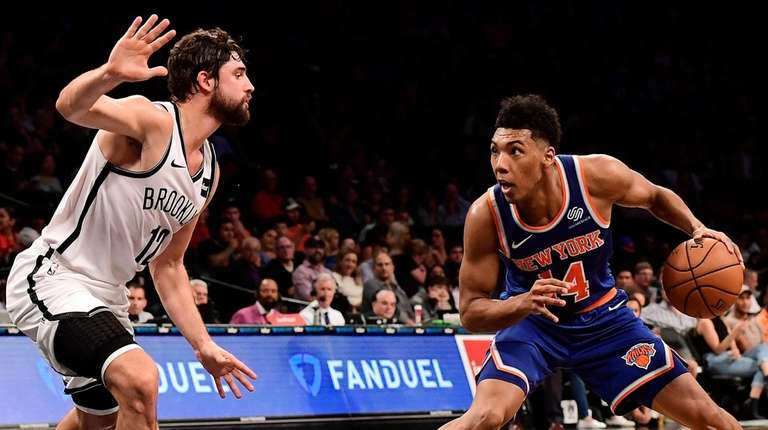 Knicks Coach David Fizdale Likes Undrafted Rookie Allonzo Triers