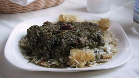 Tahdig (rice crust from the bottom of the