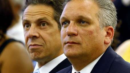 State Attorney General Andrew Cuomo and Nassau County