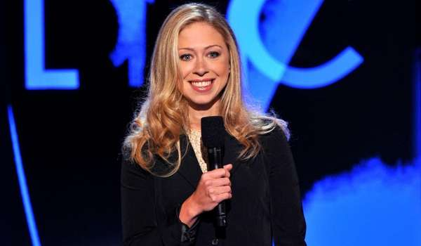 Chelsea Clinton speaks at the Democratic National Convention