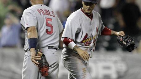 St. Louis Cardinals first baseman Albert Pujols (5)