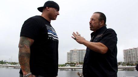Steve Isaak talks with Paul O'Keefe, a former