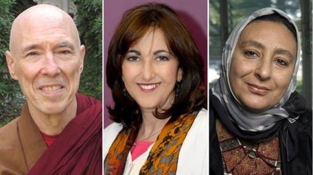 Ven. Bhikkhu Bodhi, Rabbi Susie Heneson Moskowitz and