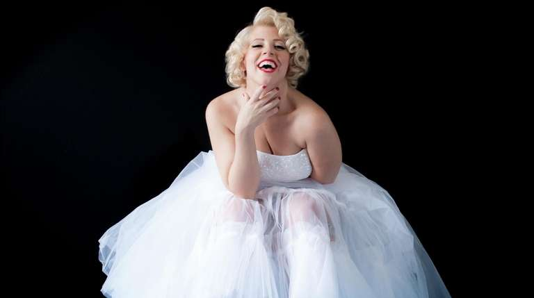 Actress Erin Sullivan stars as Marilyn Monroe in