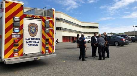Four people were taken to North Shore University