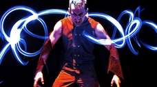 PUSH Physical Theatre artistic director Darren Stevenson portrays