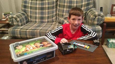 Kidsday reporter Brayden Rowe tested the Microduino mPie