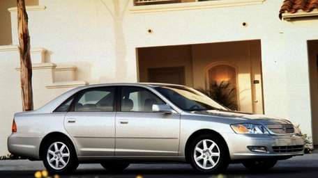 Toyota Avalons built between 2000 and 2004 are