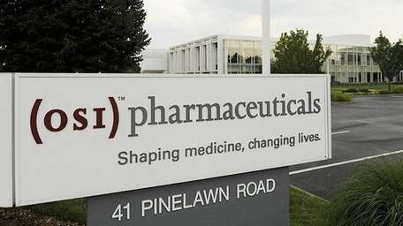 OSI Pharmaceuticals headquarters in Melville. (July 2009)