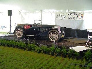 MG On Auction Block