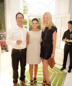 Jerry and Jessica Seinfeld and Gwyneth Paltrow attend