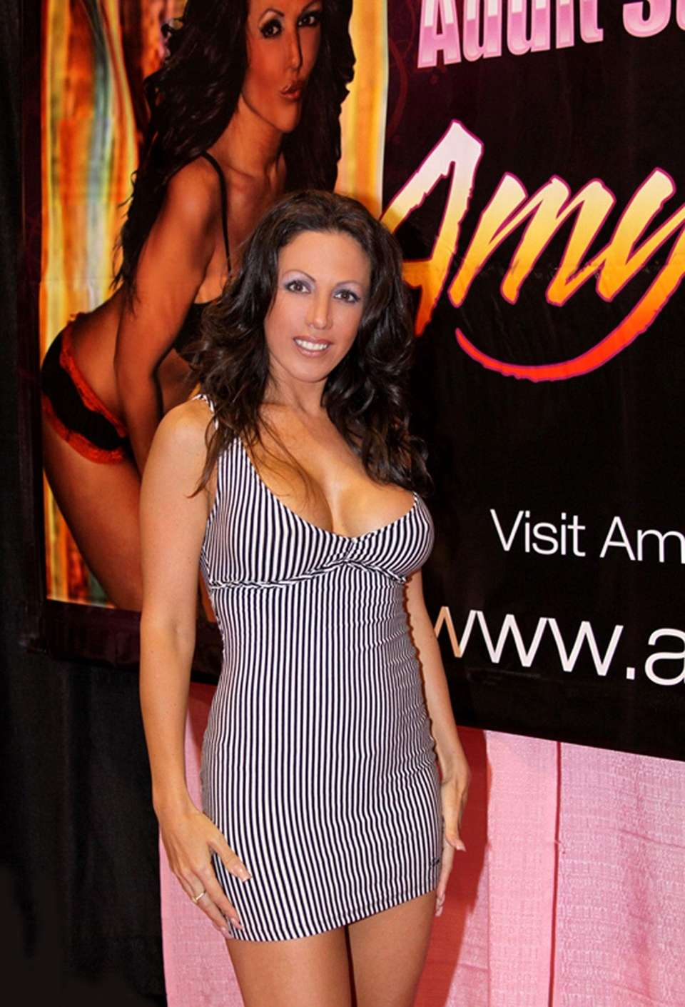 Amy Fisher, seen here in January 2010, announces