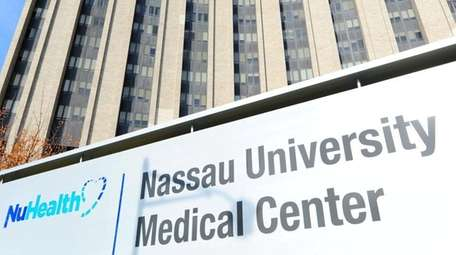 Nassau University Medical Center is shown in this