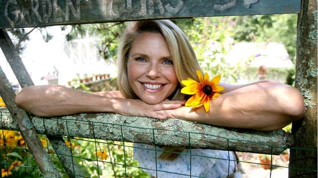 Christie Brinkley gives a tour of her Bridgehampton