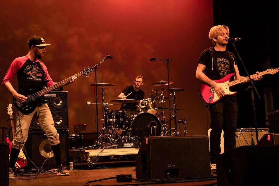 The band Accept the Wind performs on Friday